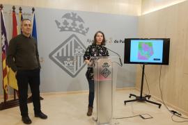 El gerente d'Urbanisme, Joan Riera, y la regidora de Model de Ciutat, Neus Truyol