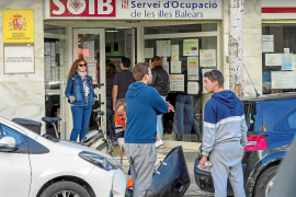 Febrero marca un descenso del paro del 2,4 % en Ibiza y del 10,6 % en Formentera