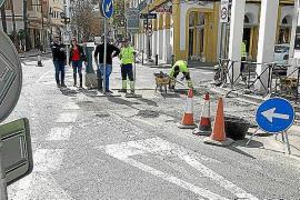 Empiezan las obras de pavimentación asfáltica en 10 calles de Vila