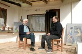 Adrián Rosa: «Puget Viñas i Tur de Montis han estat els millors pintors d'Eivissa»