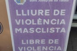 Sant Josep instala señales en contra de la violencia machista