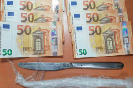 Detenidos en Mallorca dos presuntos traficantes de cocaína y 'cristal'