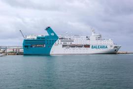 Un barco de Baleària