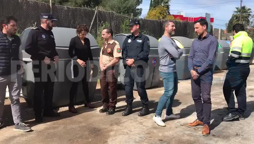 Sant Antoni incorpora a la plantilla municipal el primer Guarda Rural de Ibiza