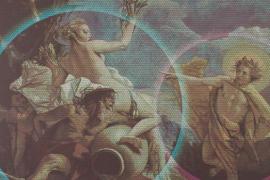 La muestra 'Parelles de Tiepolo', de Rafael Armengol, en el Centre de Cultura Sa Nostra