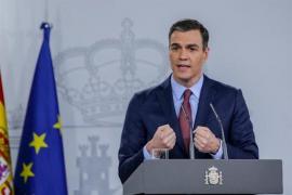 Sánchez augura «semanas difíciles» y anuncia ayudas a trabajadores y pymes