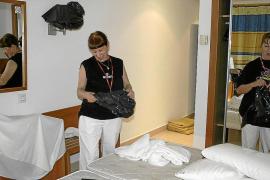 Las pernoctaciones hoteleras se desploman un 12% hasta abril, el peor dato de Balears