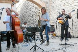 Muriel Grossmann ultima la edición de su concierto en el Ibiza Jazz Festival 2011