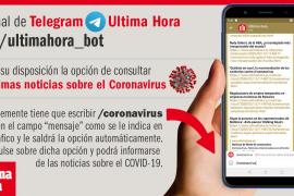coronavirus a través de telegram