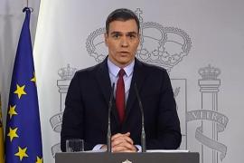 Sánchez: «La autoridad competente en todo el territorio es ahora el Gobierno de España»
