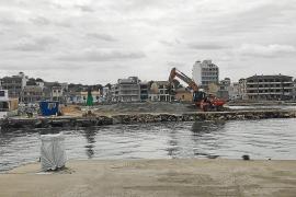 Vecinos de Can Picafort, preocupados por el impacto de las obras en el club náutico