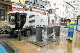 El Ayuntamiento de Sant Antoni adapta los protocolos de limpieza ante el coronavirus