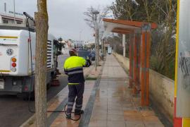 Sant Josep y Santa Eulària adoptan medidas especiales de limpieza ante el coronavirus