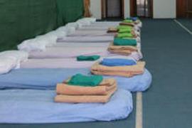 Vila instala en sa Blanca Dona 42 camas para acoger a personas sin techo