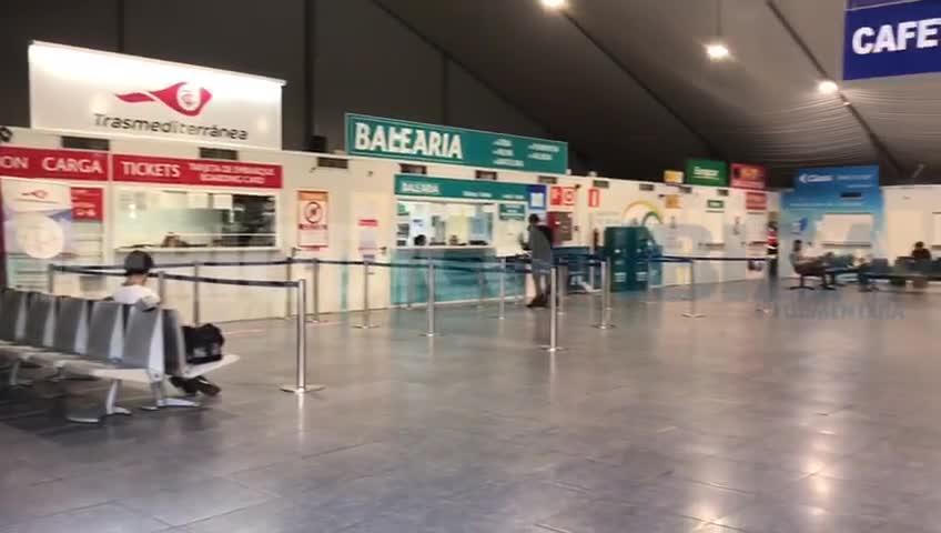 Baleares restringe el tráfico en sus puertos y aeropuertos para frenar el coronavirus