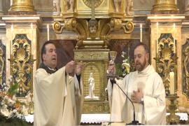 La misa en honor a Sant Josep, en la TEF