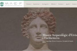 La nueva web del Museo Arqueológico de Ibiza impulsa un tour virtual por sus salas y yacimiento