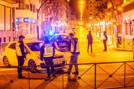 Toque de queda en las calles de Ibiza para combatir el coronavirus