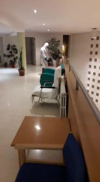 El Consell d'Eivissa desinfecta preventivamente el Hospital Residencia Asistida Cas Serres