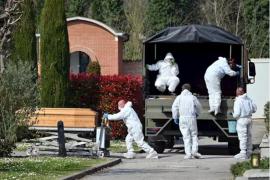 Italia anuncia 793 nuevos fallecidos por el coronavirus, casi 5.000 muertos totales y 42.000 contagios