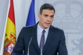 Pedro Sánchez: «Necesitamos ganar tiempo para reforzar el sistema de salud»