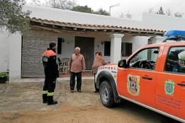 Sant Antoni recorre sus pueblos para evitar que la población rural esté desatendida