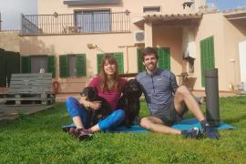 Andreu Sastre i Marina Sánchez, fisioterapeutas