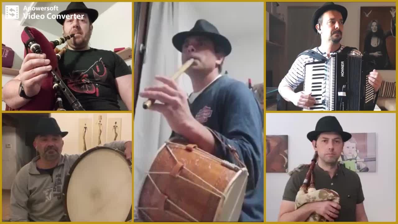 El grupo Ardello Eixo Ibiza interpreta la canción Sa Calera