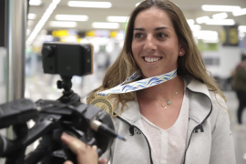 Paula Barceló: «Es egoísmo pensar ahora en medallas»