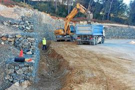 Suspendidas temporalmente las obras de la carretera de Santa Eulària