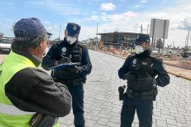 Formentera vigila el cumplimiento de las medidas de seguridad en las obras