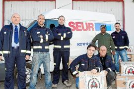 Los bomberos donan material en desuso para la República Dominicana