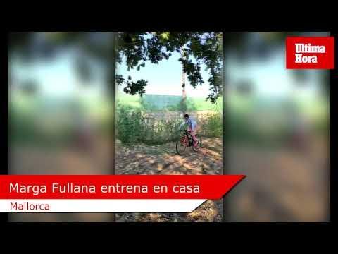 Marga Fullana da sus primeras pedaladas en el confinamiento