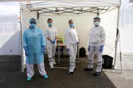 El punto fijo para detectar el coronavirus realiza 72 tests en tres días
