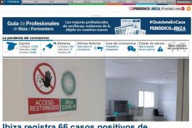 La crisis del coronavirus dispara el consumo de noticias en periodicodeibiza.es