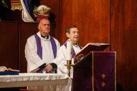 La iglesia de Santa Cruz de Ibiza celebra su misa online a través de Facebook