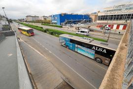 El servicio de autobuses será todavía más reducido a lo largo de esta semana