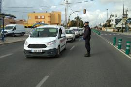 Identificadas cerca de 4.000 personas en los 300 controles realizados en las carreteras de Baleares