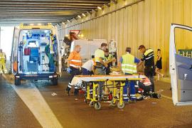 Mueren dos personas en sendos accidentes de tráfico en ses Païsses y la autovía del aeropuerto