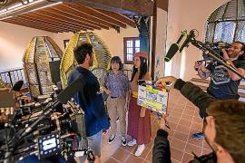 Filmación en Baleares.