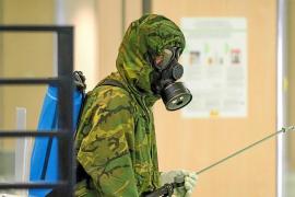 El Ejército desinfecta las Pitiusas