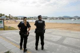 Sant Antoni empieza a realizar el test de detección del Covid-19 a sus agentes de Policía Local y Protección Civil