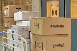 Ibiza Contigo hace su primera entrega de material sanitario