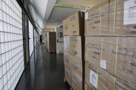 Baleares recibe 20 toneladas más de material sanitario