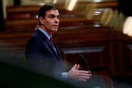 """Sánchez dice estar """"convencido"""" de que en 15 días habrá que prolongar de nuevo el estado de alarma"""