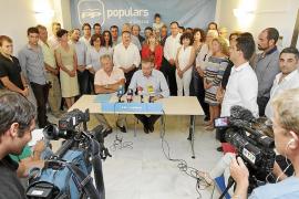 Serra presenta su candidatura arropado por cuatro alcaldes