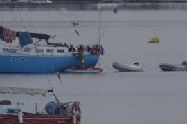 Denunciadas siete personas que celebraban una fiesta en un velero en Sant Antoni
