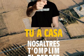 El rapero Valtònyc participa en la campaña de Unió de Pagesos