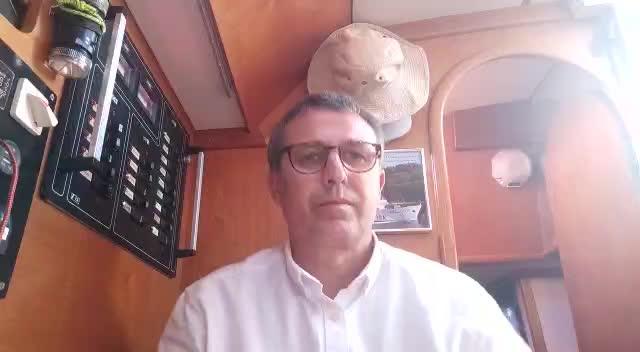 El valenciano fondeado en Formentera, «obligado» a volver a casa