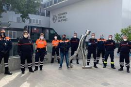 Los efectivos de la Policía Local y Protección Civil de Sant Antoni dan negativo en Covid-19